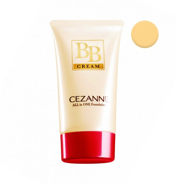 CEZANNE BB Cream All-in-one Foundation SPF 23 PA++- Natural Beige 03
