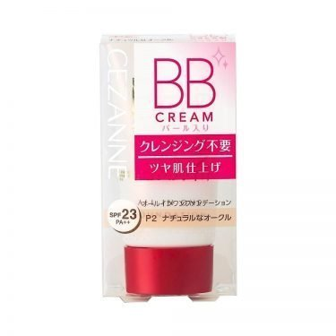 CEZANNE BB Cream Pearl SPF 23 PA Natural Ochre P2