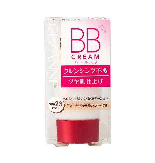 CEZANNE BB Cream Pearl SPF 23 PA Natural Ochre P2