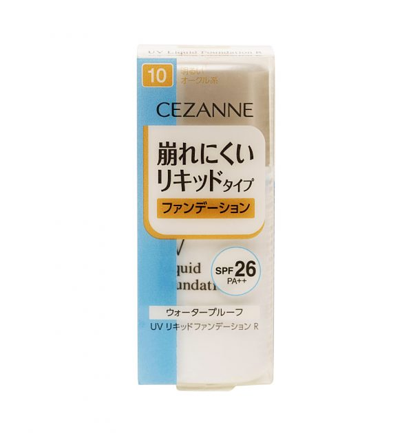 CEZANNE-UV-Liquid-Foundation-R-Waterproof-SPF-26-Healthy-Ochre-10