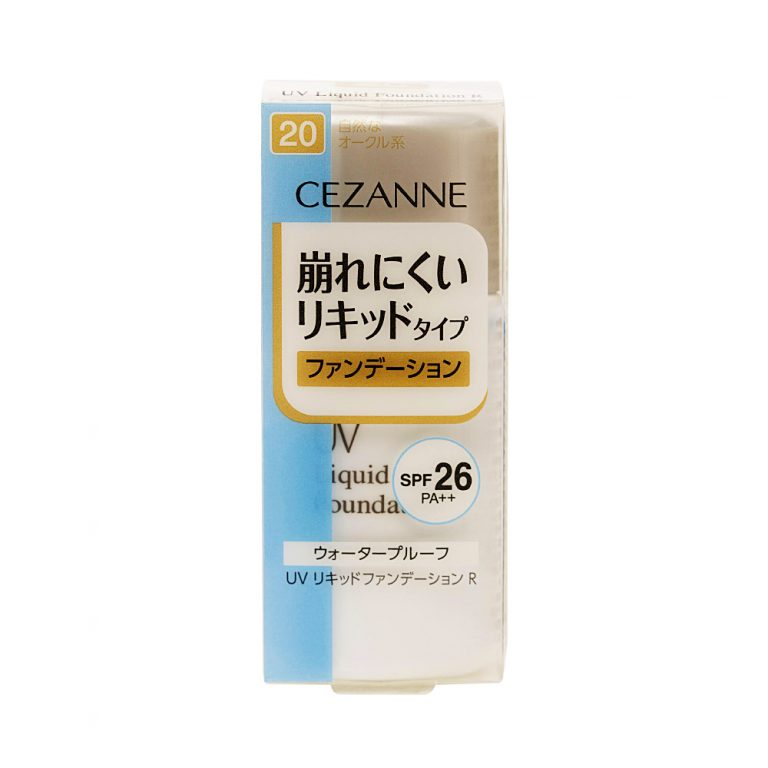 CEZANNE-UV-Liquid-Foundation-R-Waterproof-SPF-26-Healthy-Ochre-20