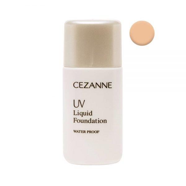 CEZANNE UV Liquid Foundation R Waterproof - 30ml