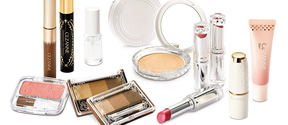 Cezanne Set made in Japan cosmetics