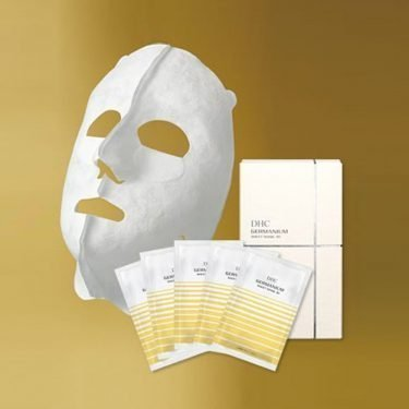 DHC GE Germanium 3D Face Mask - 5 Sheets