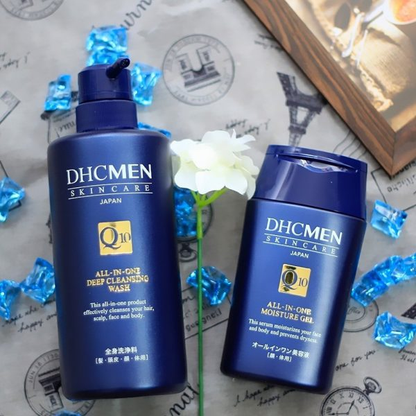 DHC MEN All in One Deep Cleansing Wash for Face, Body and Hair