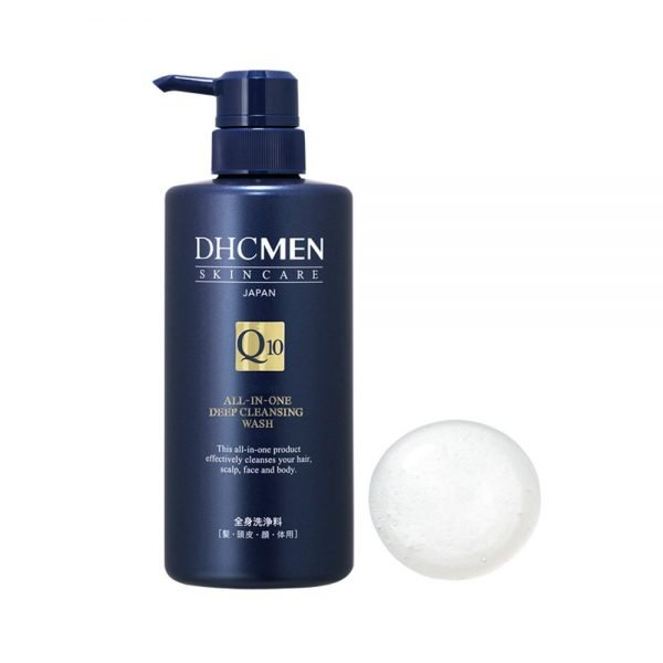 DHC MEN All in One Deep Cleansing Wash for Face, Body and Hair - 500ml
