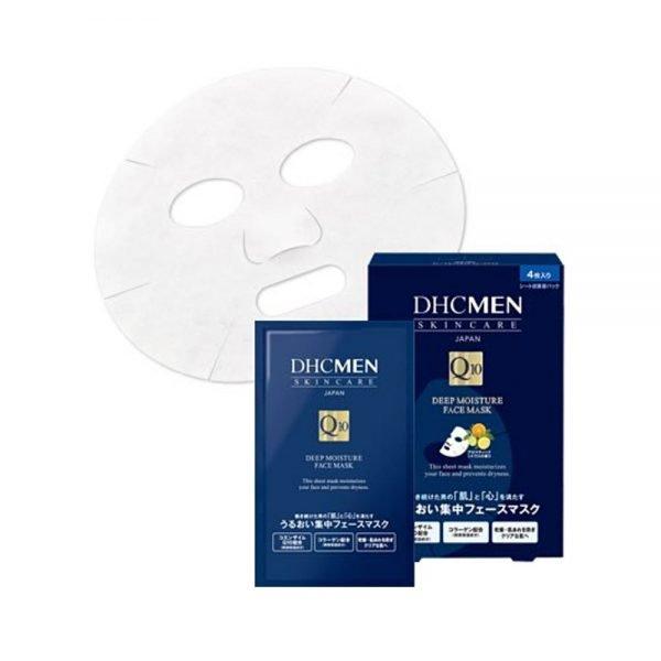 DHC MEN Deep Moisture Face Mask - 4 Sheets