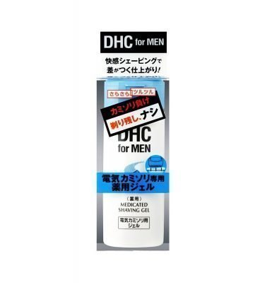 DHC MEN Medicated Shave Gel for Electric Shaver -140ml