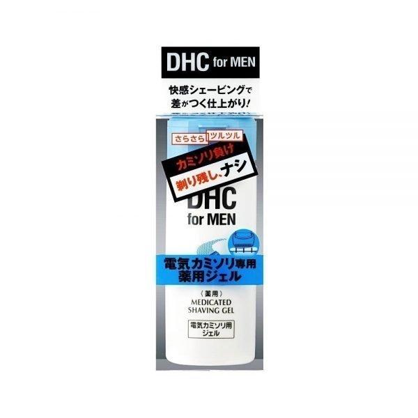 DHC MEN Medicated Shave Gel for Electric Shaver -140ml