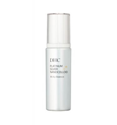 DHC Platinum Silver Nanocolloid Milky Essence - 80ml