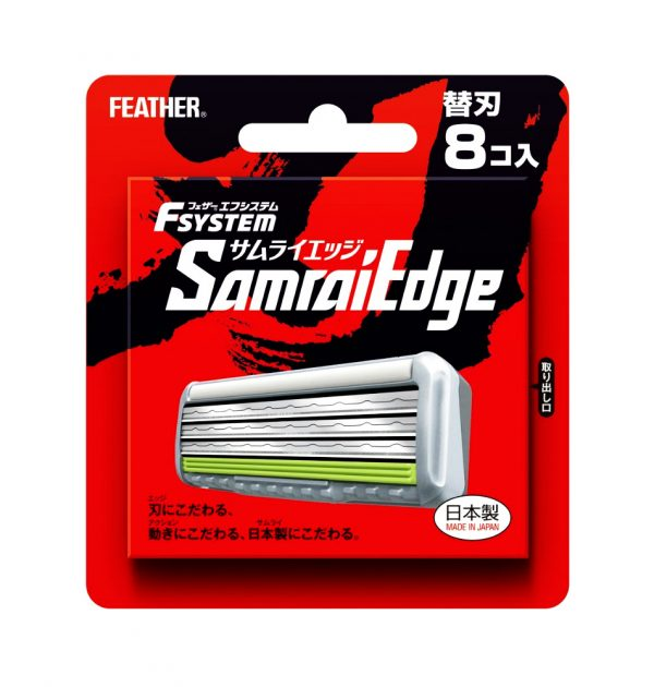 FEATHER Samurai Edge Razor Blade - 8 Count