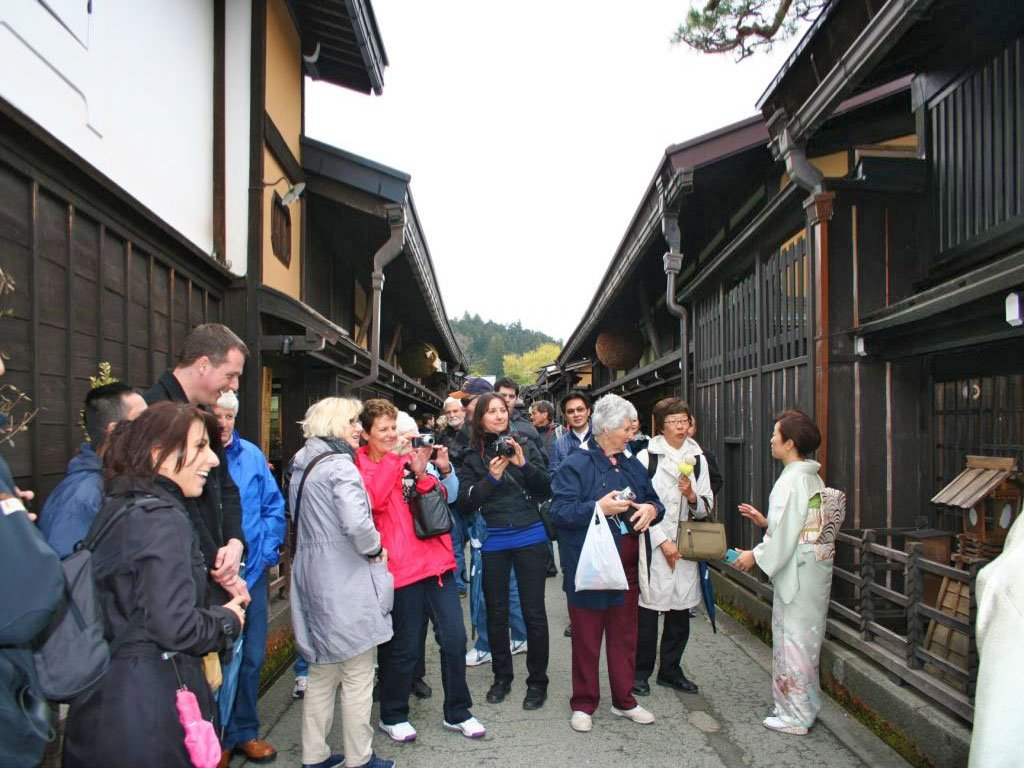 International tourists flocking to various parts of Japan