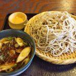 Japanese soba served at the Takayashiya