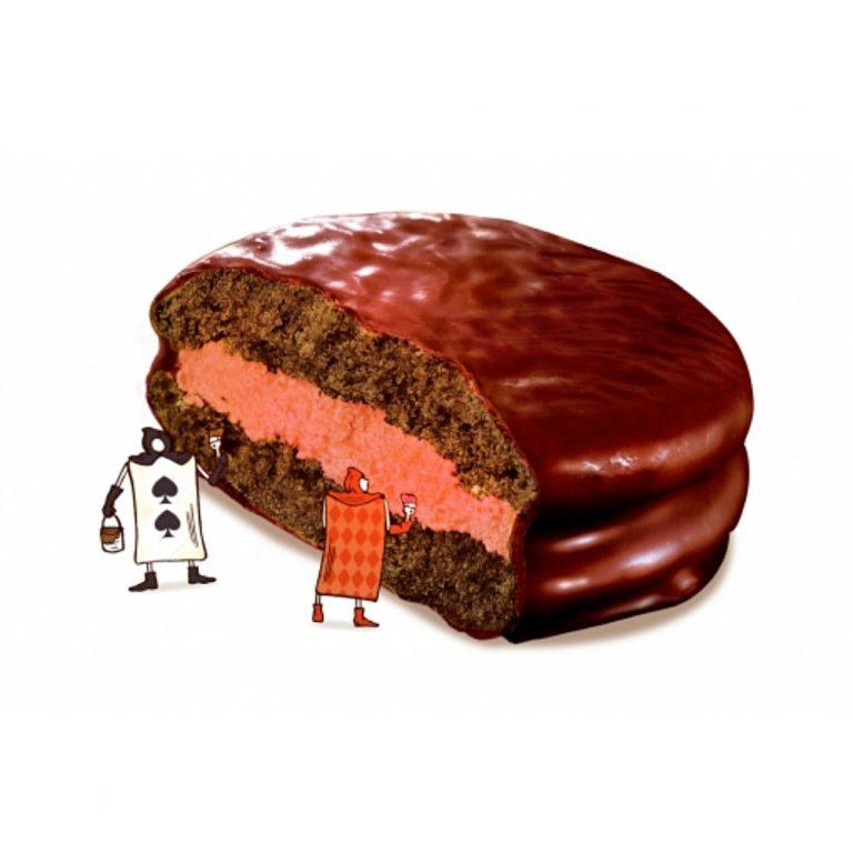 Lotte Strawberry Choco Pie