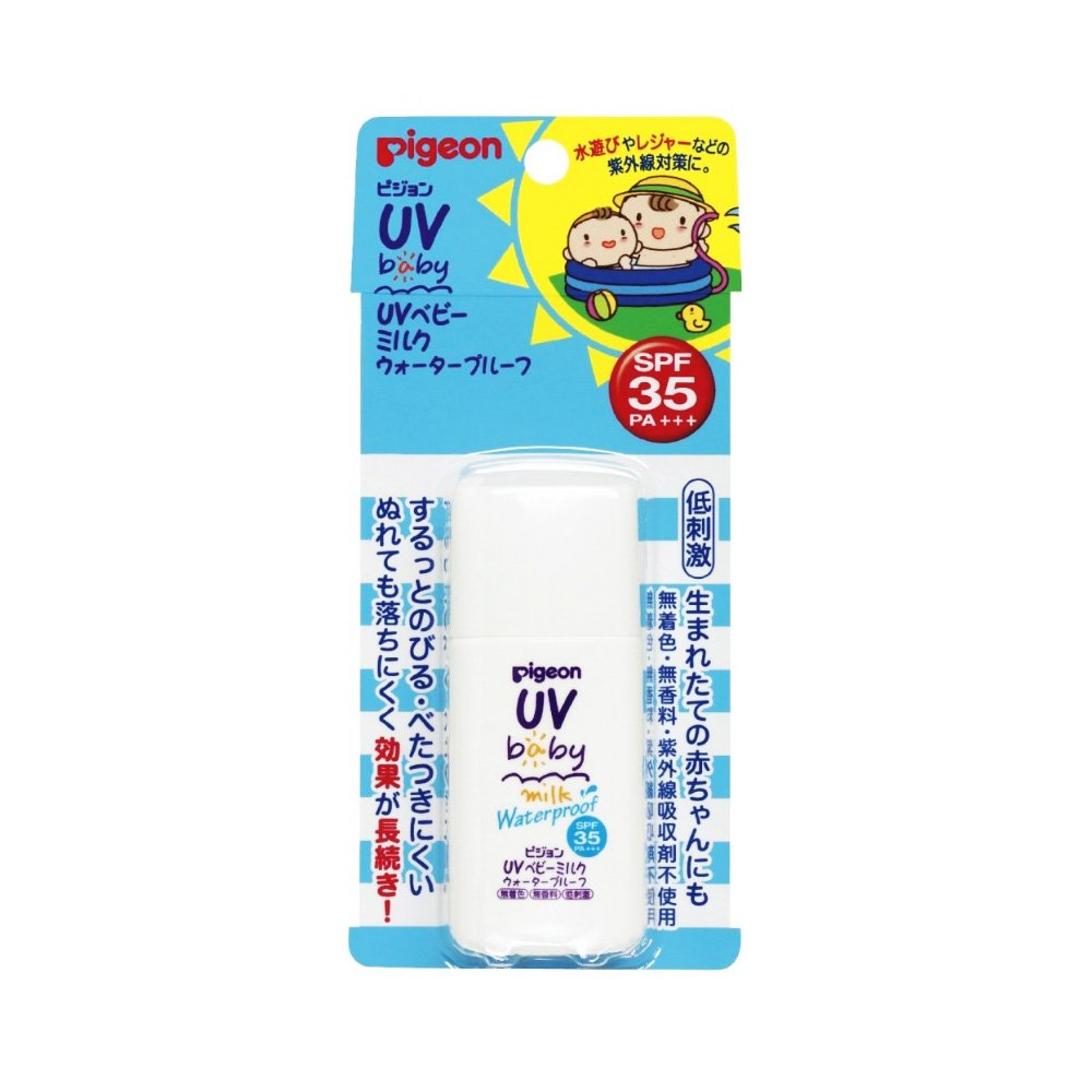 PIGEON UV Baby Milk Waterproof SPF35 PA +++ 30g