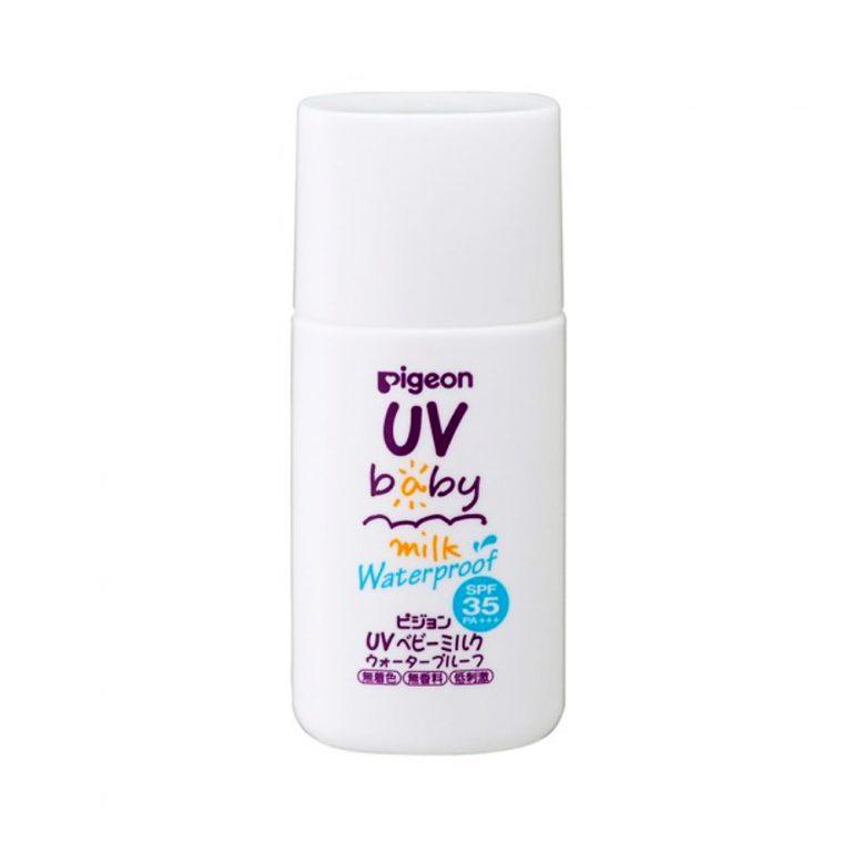 PIGEON UV Baby Milk Waterproof SPF35 PA +++ 30g