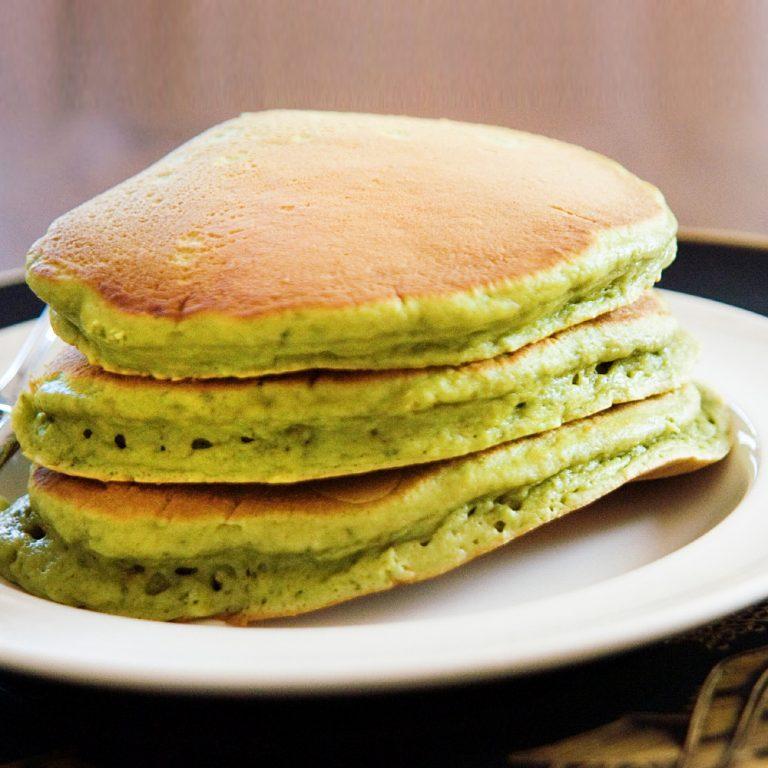 SHOWA Japanese Wa Matcha Pancake Mix with Matcha Syrup