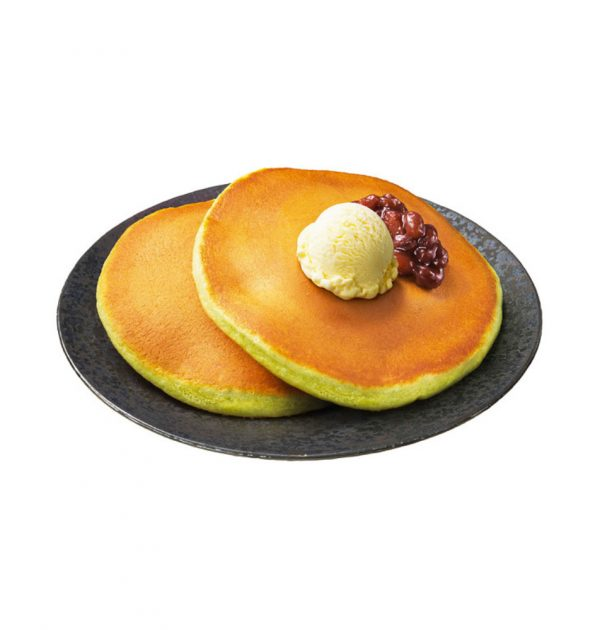 Showa Matcha Pancakes