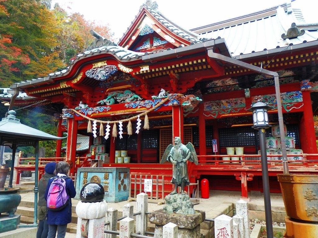 Yakuoin at Mount Takao
