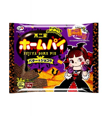 FUJIYA 2016 Halloween Home Pie with Butter & Chocolate - 192g