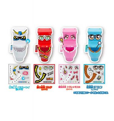 HEART Moko Moko Mokolet 6 Candy Toilet Kit Made in Japan
