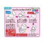 HEART Moko Moko Mokolet 7 Candy Toilet Kit Made in Japan