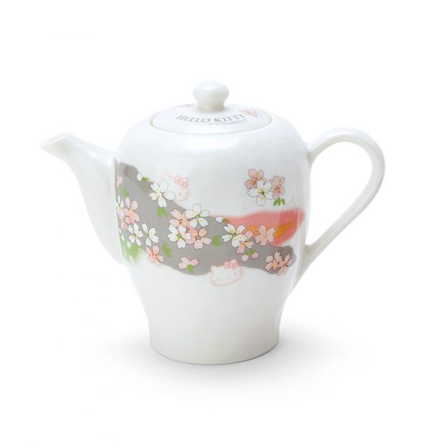 HELLO KITTY Sakura Tea Pot