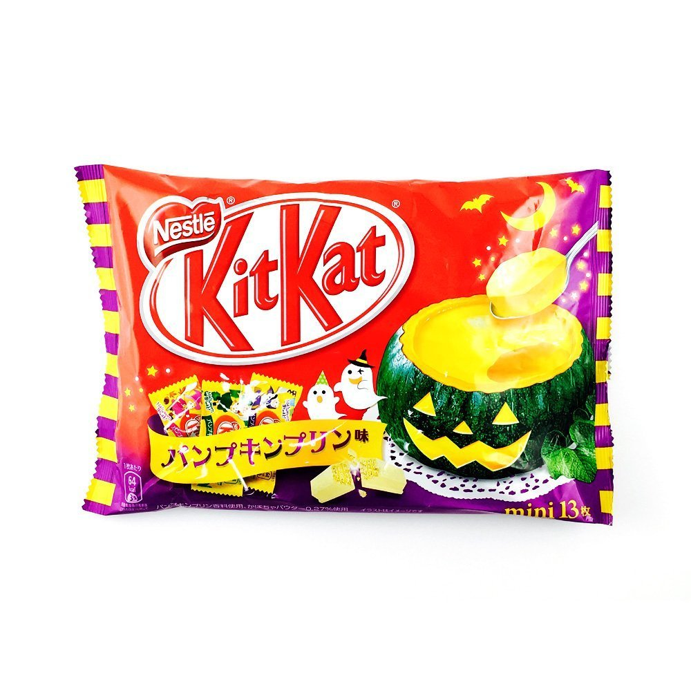 KIT KAT 2016 Halloween Pumpkin Pudding Flavour – 13pcs