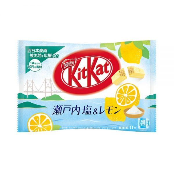 KIT KAT Setouchi Salt & Lemon Made in Japan