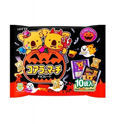 LOTTE 2016 Halloween Special Koala's March - 10 Mini Bags