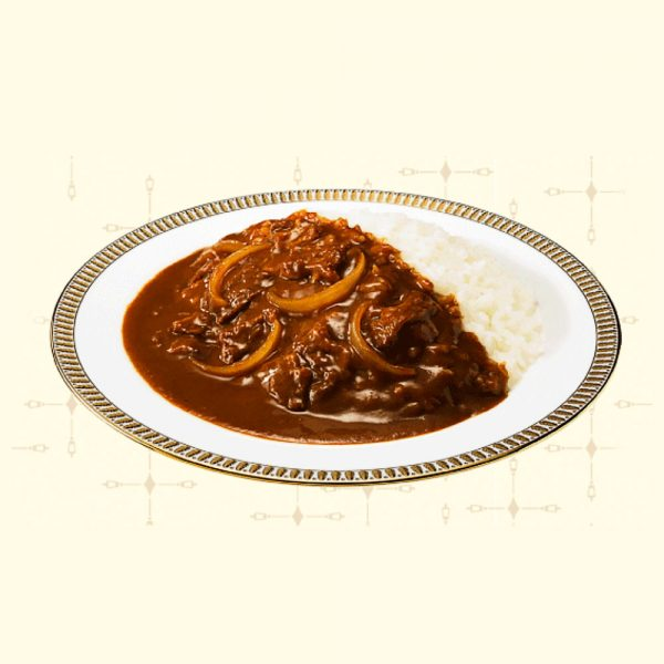 MEIJI Ginza Curry & Stew Hot Beef Made in Japan