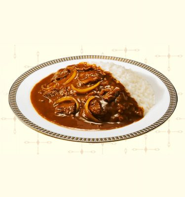 MEIJI Ginza Curry & Stew Medium Hot Beef Made in Japan