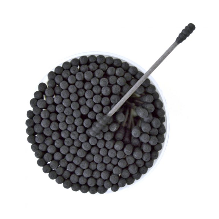 MUJI Black Cotton Buds - 200pcs