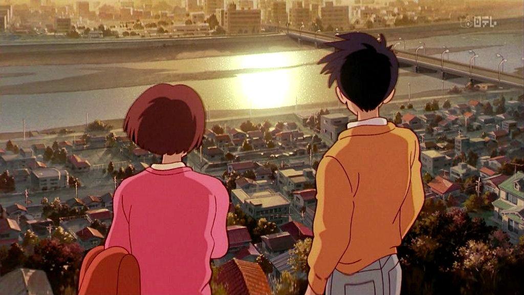 Seiji proposing to Shizuku on the hill