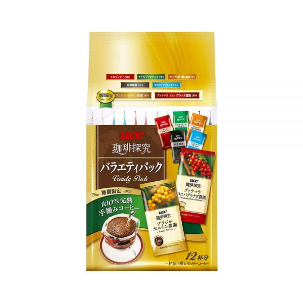 UCC Aroma Rich Selection Hand Drip Coffee Made in Japan