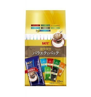 UCC Aroma Rich Selection Hand Drip Coffee - 12pcs