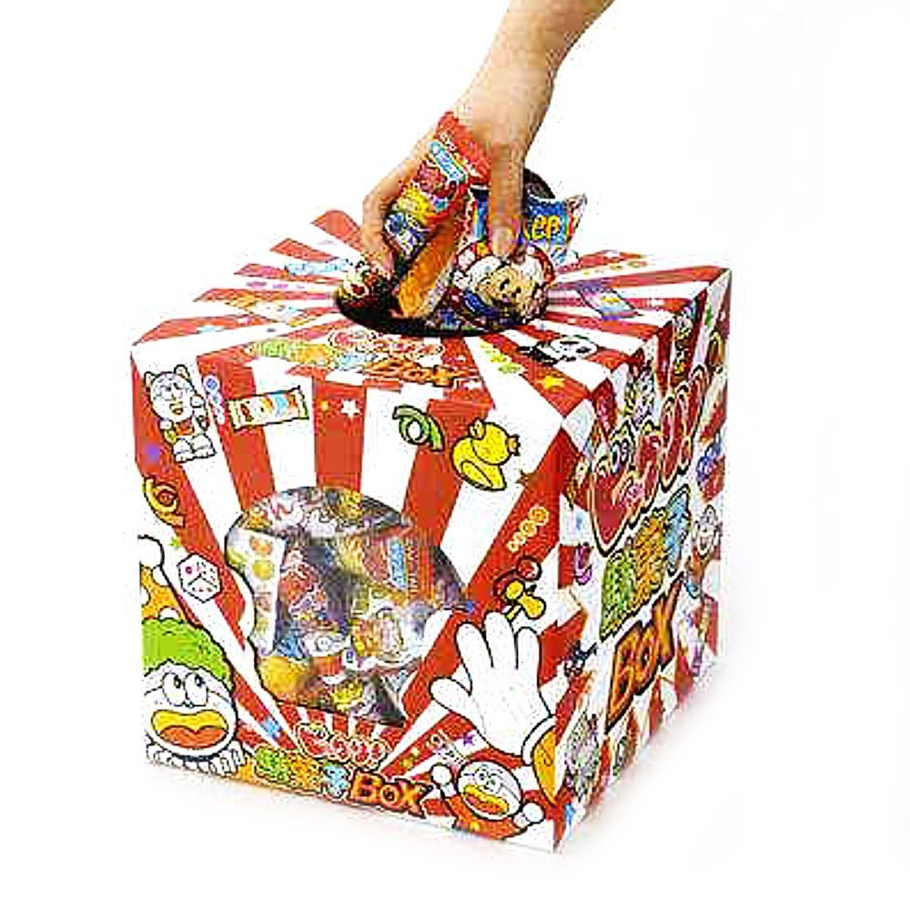 yaokin dagashi junk food surprise box with umaibo etc 80pcs made