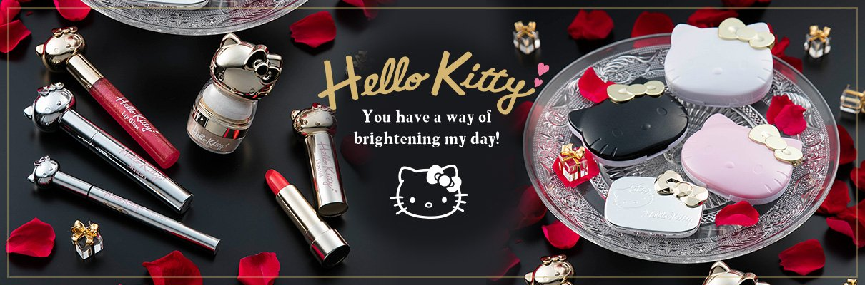 HELLO KITTY New cosmetics 2016