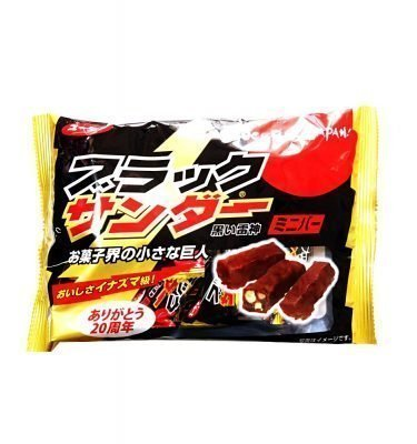 BLACK THUNDER Mini Chocolate Bar - 180g