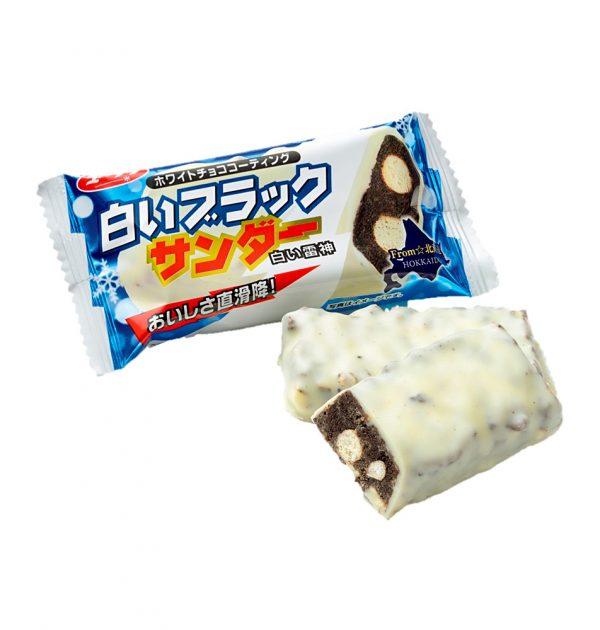 BLACK THUNDER Mini Chocolate Bar - White Hokkaido