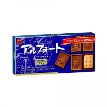 BOURBON Alfort Chocolate Cookie - Original Blue