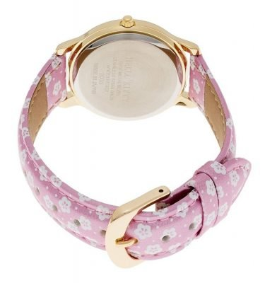 CITIZEN Q&Q Hello Kitty Wrist Watch with Leather Belt - Sakura & Lucky CatCITIZEN Q&Q Hello Kitty Wrist Watch with Leather Belt - Sakura & Lucky Cat