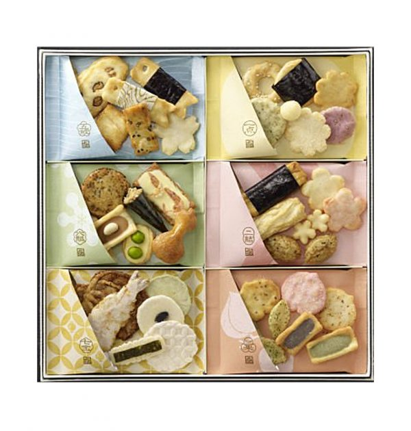 GINZA AKEBONO Rice Cracker Select - 12pcs