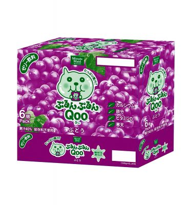JAPAN COCA COLA Purun Purun Qoo Jelly Drink Grape