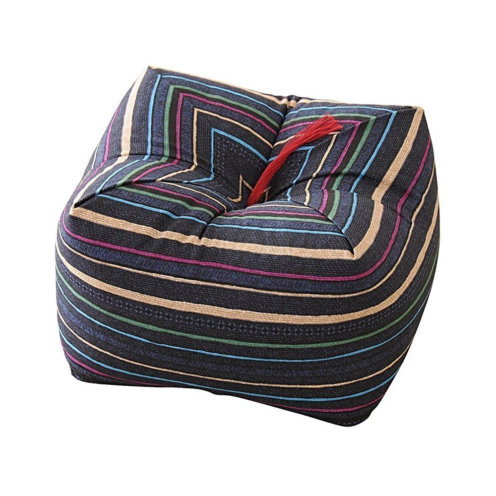 Japanese Sobagara Buckwheat Husk Cushion Amp Pillow Blue