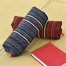 Japanese Sobagara Buckwheat Husk Pillow - Blue