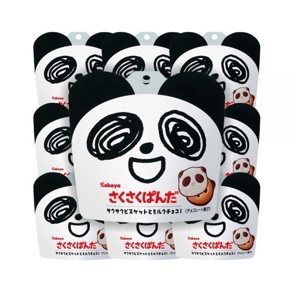 KABAYA Saku Saku Crispy Panda Chocolate Cookie