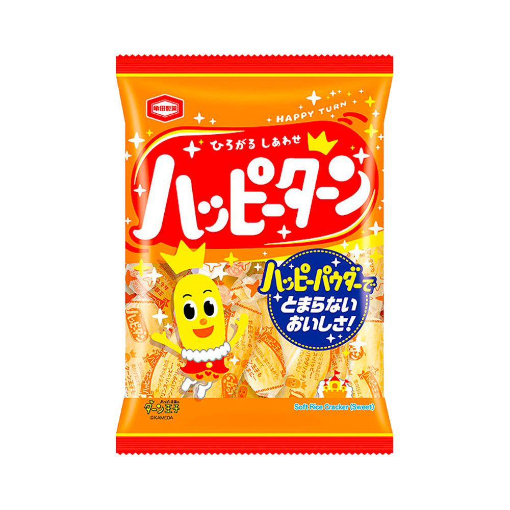 KAMEDA SEIKA Happy Turn Soft Rice Crackers