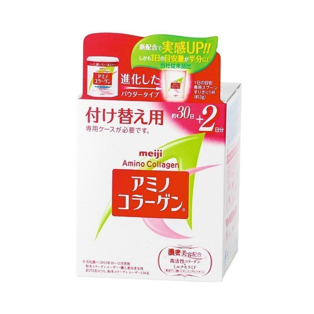 MEIJI New Amino Collagen - Refill 30 Days + 2 Days