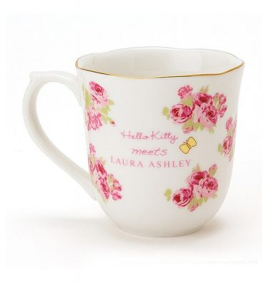 SANRIO Hello Kitty Meets LAURA ASHLEY - Cup